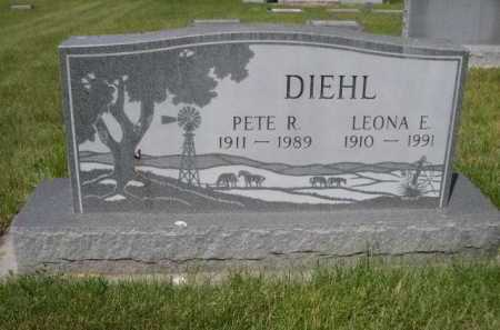 DIEHL, LEONA E. - Dawes County, Nebraska | LEONA E. DIEHL - Nebraska Gravestone Photos