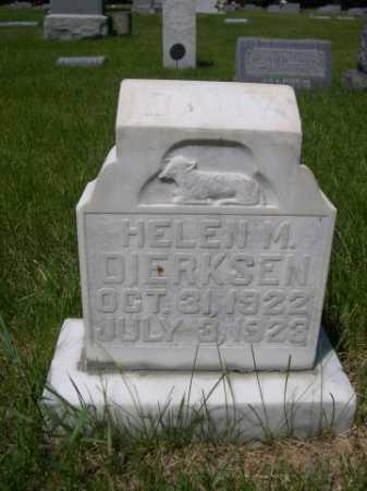DIERKSEN, HELEN M. - Dawes County, Nebraska | HELEN M. DIERKSEN - Nebraska Gravestone Photos