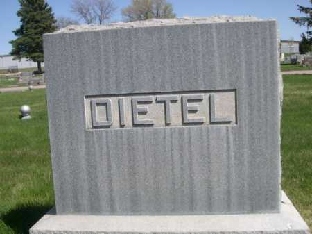DIETEL, FAMILLY - Dawes County, Nebraska | FAMILLY DIETEL - Nebraska Gravestone Photos