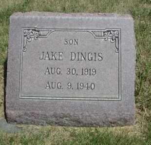 DINGIS, JAKE - Dawes County, Nebraska   JAKE DINGIS - Nebraska Gravestone Photos