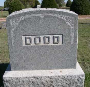 DODD, FAMILY - Dawes County, Nebraska | FAMILY DODD - Nebraska Gravestone Photos