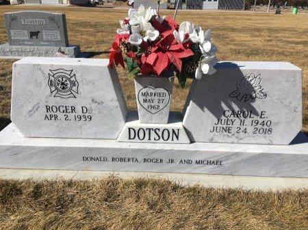 DOTSON, ROGER D - Dawes County, Nebraska | ROGER D DOTSON - Nebraska Gravestone Photos