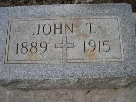 DOWLING, JOHN T. - Dawes County, Nebraska   JOHN T. DOWLING - Nebraska Gravestone Photos