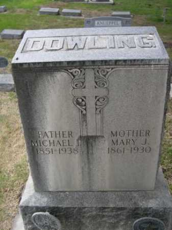 DOWLING, MARY J. - Dawes County, Nebraska | MARY J. DOWLING - Nebraska Gravestone Photos