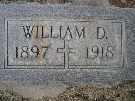 DOWLING, WILLIAM D. - Dawes County, Nebraska | WILLIAM D. DOWLING - Nebraska Gravestone Photos