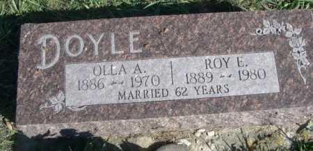 DOYLE, ROY E. - Dawes County, Nebraska   ROY E. DOYLE - Nebraska Gravestone Photos