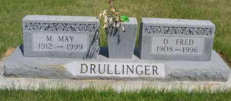 DRULLINGER, M. MAY - Dawes County, Nebraska | M. MAY DRULLINGER - Nebraska Gravestone Photos