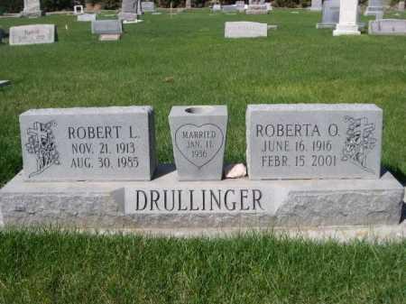 DRULLINGER, ROBERTA O. - Dawes County, Nebraska   ROBERTA O. DRULLINGER - Nebraska Gravestone Photos
