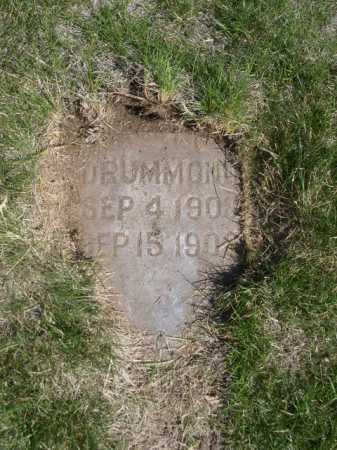 DRUMMOND, UNKNOWN - Dawes County, Nebraska | UNKNOWN DRUMMOND - Nebraska Gravestone Photos