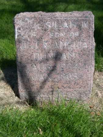 DUNHAM, SILAH W. - Dawes County, Nebraska | SILAH W. DUNHAM - Nebraska Gravestone Photos