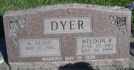 DYER, WELDON R. - Dawes County, Nebraska | WELDON R. DYER - Nebraska Gravestone Photos