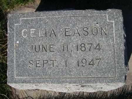 EASON, CELIA - Dawes County, Nebraska | CELIA EASON - Nebraska Gravestone Photos