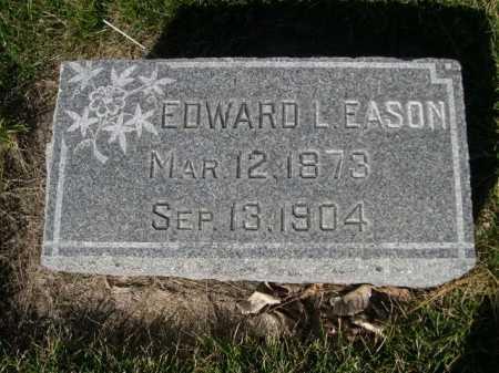 EASON, EDWARD L. - Dawes County, Nebraska | EDWARD L. EASON - Nebraska Gravestone Photos