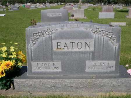 EATON, ELLEN I. - Dawes County, Nebraska | ELLEN I. EATON - Nebraska Gravestone Photos