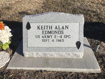 EDMONDS, KEITH ALAN - Dawes County, Nebraska   KEITH ALAN EDMONDS - Nebraska Gravestone Photos