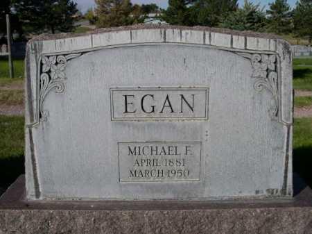 EGAN, MICHAEL F. - Dawes County, Nebraska   MICHAEL F. EGAN - Nebraska Gravestone Photos