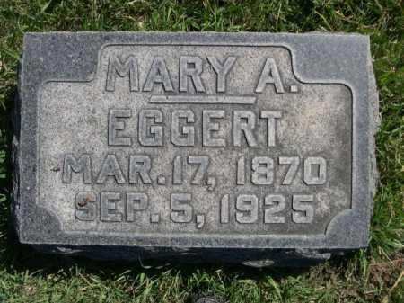 EGGERT, MARY A. - Dawes County, Nebraska | MARY A. EGGERT - Nebraska Gravestone Photos