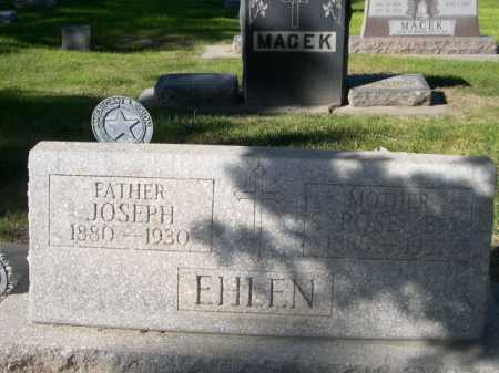 EHLEN, JOSEPH - Dawes County, Nebraska   JOSEPH EHLEN - Nebraska Gravestone Photos