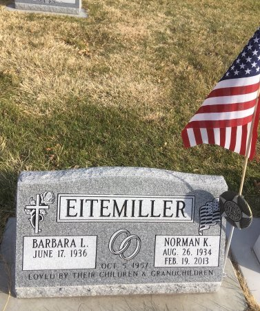 EITEMILLER, NORMAN K - Dawes County, Nebraska | NORMAN K EITEMILLER - Nebraska Gravestone Photos
