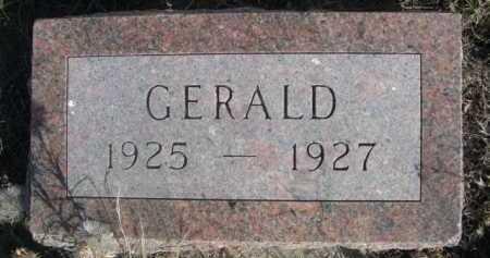 ELLIS, GERALD - Dawes County, Nebraska | GERALD ELLIS - Nebraska Gravestone Photos