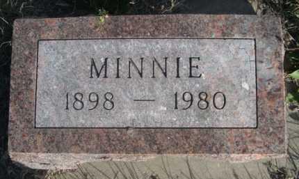 ELLIS, MINNIE - Dawes County, Nebraska   MINNIE ELLIS - Nebraska Gravestone Photos