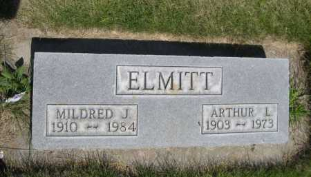 ELMITT, MILDRED J. - Dawes County, Nebraska | MILDRED J. ELMITT - Nebraska Gravestone Photos