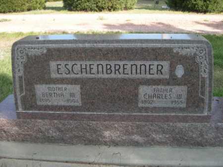 ESCHENBRENNER, BERTHA M. - Dawes County, Nebraska   BERTHA M. ESCHENBRENNER - Nebraska Gravestone Photos
