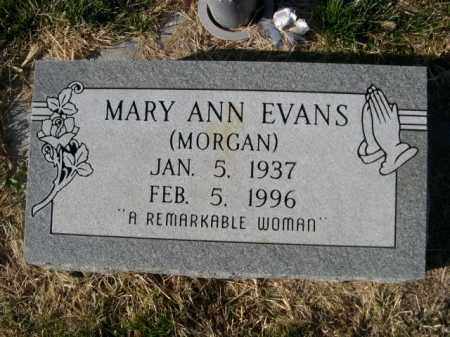 EVANS, MARY ANN - Dawes County, Nebraska | MARY ANN EVANS - Nebraska Gravestone Photos