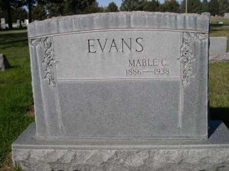 EVANS, MABLE C. - Dawes County, Nebraska | MABLE C. EVANS - Nebraska Gravestone Photos
