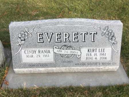 EVERETT, CINDY RANIA - Dawes County, Nebraska | CINDY RANIA EVERETT - Nebraska Gravestone Photos