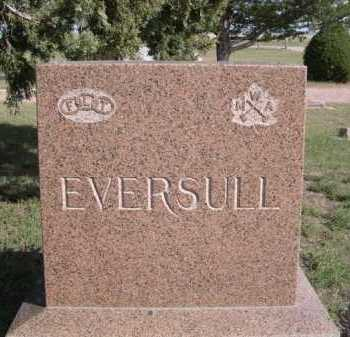 EVERSULL, FAMILY - Dawes County, Nebraska | FAMILY EVERSULL - Nebraska Gravestone Photos