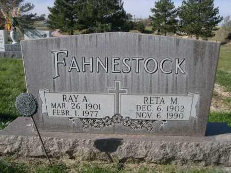 FAHNESTOCK, RAY A. - Dawes County, Nebraska | RAY A. FAHNESTOCK - Nebraska Gravestone Photos
