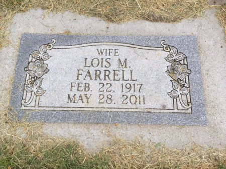 FARRELL, LOIS M  - Dawes County, Nebraska | LOIS M  FARRELL - Nebraska Gravestone Photos