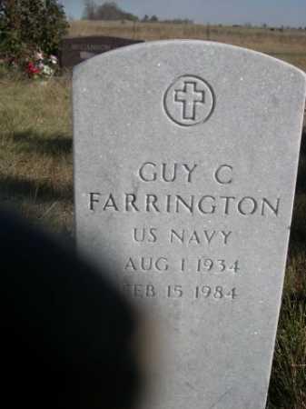FARRINGTON, GUY C. - Dawes County, Nebraska | GUY C. FARRINGTON - Nebraska Gravestone Photos