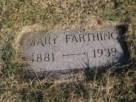 FARTHING, MARY - Dawes County, Nebraska | MARY FARTHING - Nebraska Gravestone Photos