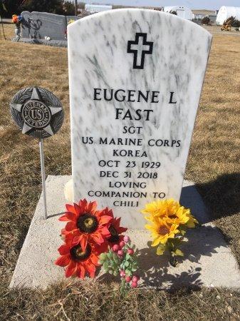 FAST, EUGENE L - Dawes County, Nebraska   EUGENE L FAST - Nebraska Gravestone Photos