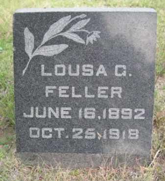 FELLER, LOUISE G - Dawes County, Nebraska | LOUISE G FELLER - Nebraska Gravestone Photos