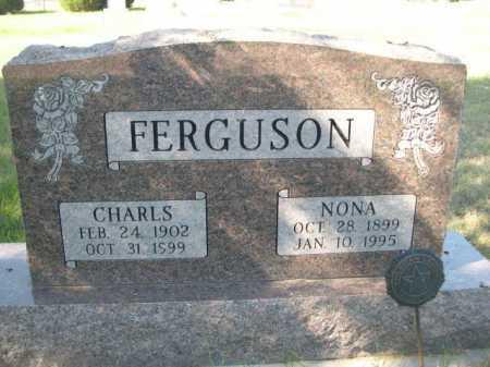 FERGUSON, NONA - Dawes County, Nebraska | NONA FERGUSON - Nebraska Gravestone Photos