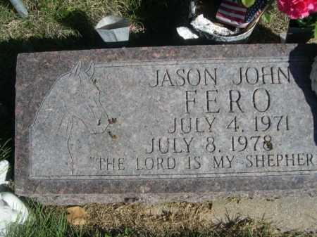 FERO, JASON JOHN - Dawes County, Nebraska   JASON JOHN FERO - Nebraska Gravestone Photos