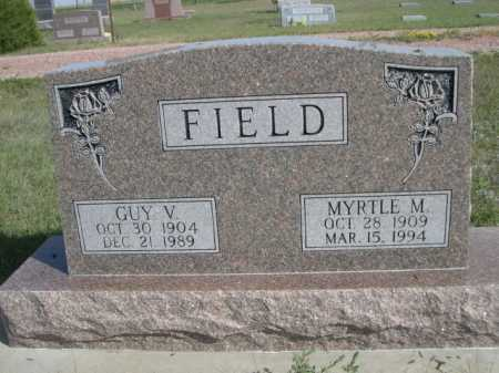 FIELD, GUY V. - Dawes County, Nebraska | GUY V. FIELD - Nebraska Gravestone Photos