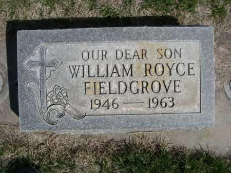 FIELDGROVE, WILLAIM ROYCE - Dawes County, Nebraska | WILLAIM ROYCE FIELDGROVE - Nebraska Gravestone Photos