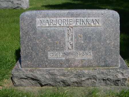 FIKKAN, MARJORIE - Dawes County, Nebraska   MARJORIE FIKKAN - Nebraska Gravestone Photos