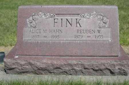 FINK, ALICE M. - Dawes County, Nebraska | ALICE M. FINK - Nebraska Gravestone Photos