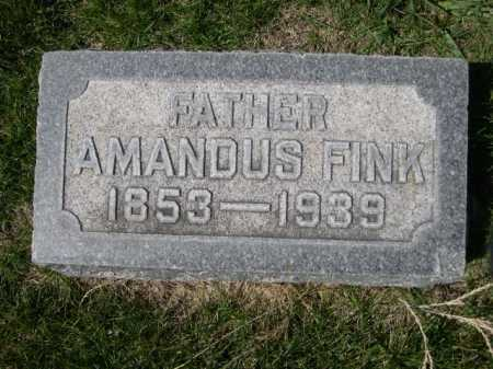 FINK, AMANDUS - Dawes County, Nebraska | AMANDUS FINK - Nebraska Gravestone Photos