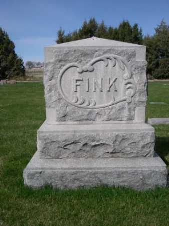 FINK, FAMILY - Dawes County, Nebraska | FAMILY FINK - Nebraska Gravestone Photos