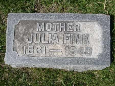 FINK, JULIA - Dawes County, Nebraska | JULIA FINK - Nebraska Gravestone Photos