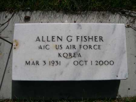 FISHER, ALLEN G. - Dawes County, Nebraska | ALLEN G. FISHER - Nebraska Gravestone Photos