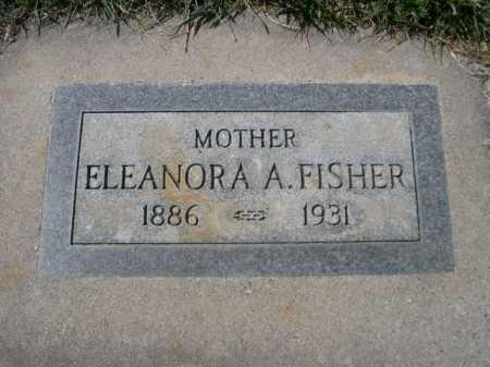 FISHER, ELEANORA A. - Dawes County, Nebraska | ELEANORA A. FISHER - Nebraska Gravestone Photos