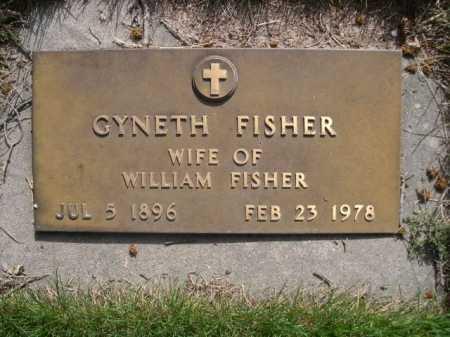 FISHER, GYNETH - Dawes County, Nebraska   GYNETH FISHER - Nebraska Gravestone Photos
