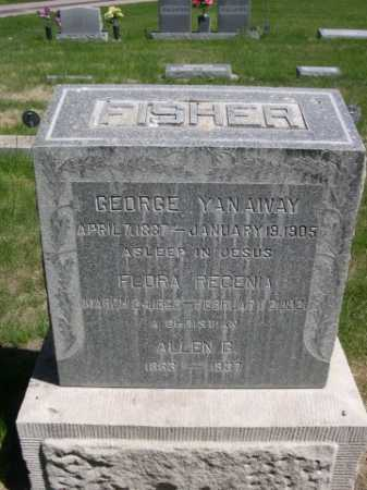 FISHER, FLORA REGENIA - Dawes County, Nebraska | FLORA REGENIA FISHER - Nebraska Gravestone Photos